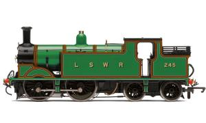 Hornby R3204 LSWR 0-4-4T Class M7 #245 DCC Ready NRM Edition